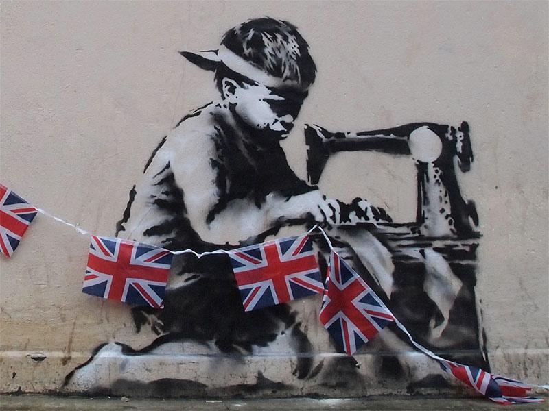 Poundland, Banksy