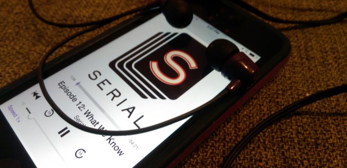 Serial Podcast (image by Casey Fiesler)