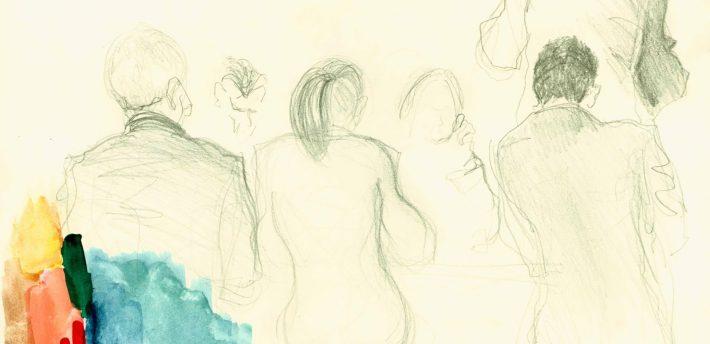 Supreme court sketch (R v Jogee), www.isobelwilliams.blogspot.co.uk