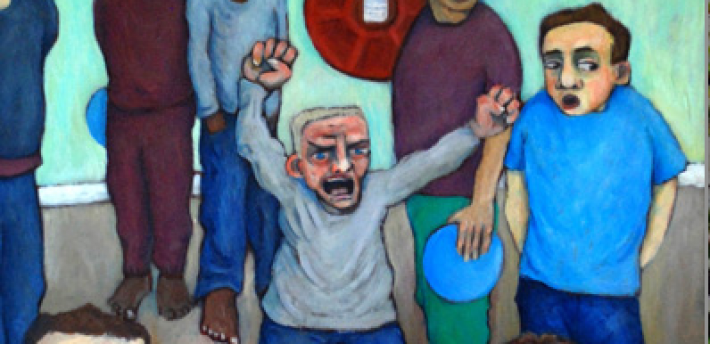 Kvetch - HMP Grendon, Buckinghamshire, Ariane Bankes Outstanding Award for Oil Acrylic Painting 2008