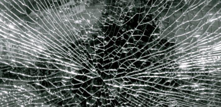 Broken window, from Flickr by Lynn Friedmann