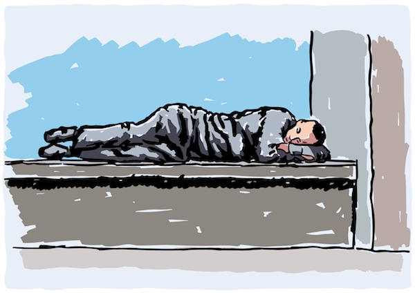 Image result for sleeping rough clipart