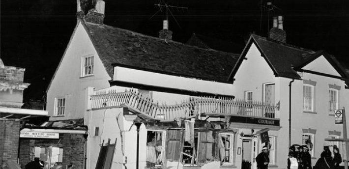 The Horse and Groom pub in Guildford where an IRA bomb killed five people in 1974 Photograph: PA