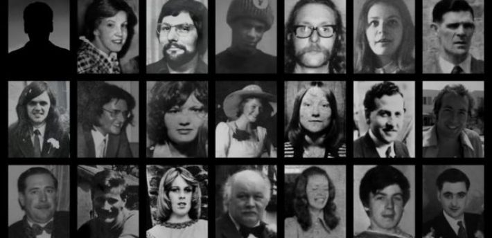21 people died when two bombs were detonated in Birmingham in 1974