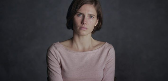 Credit: Netflix from the documentary 'Amanda Knox'