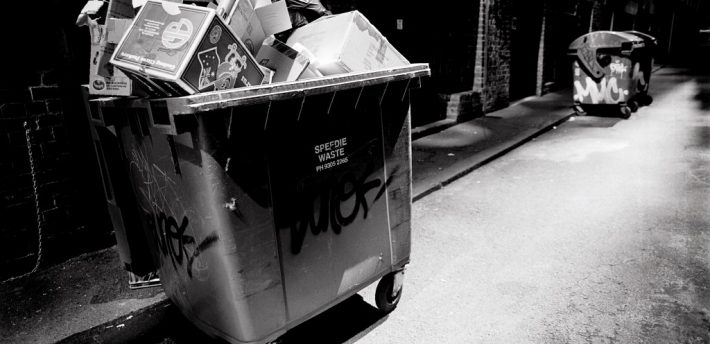 Bin Noir, from Flickr under Creatuve Comms, Jes
