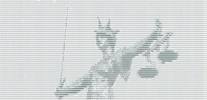 Glassgiant.com - JPEG / JPG Picture to ASCII Art Generator