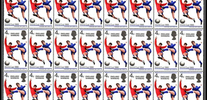 Football 1966 stamp, under creative comms, footysphere