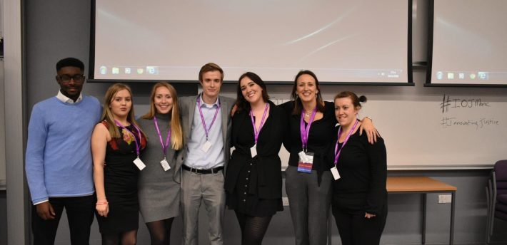 The Innovation of Justice team at the Manchester conference