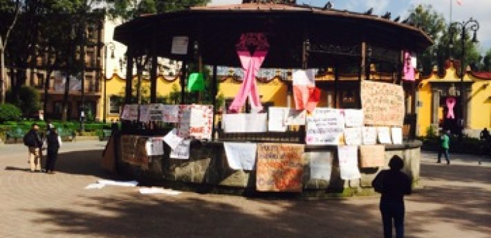 Coyoacan: messages to the people, about the 43 students