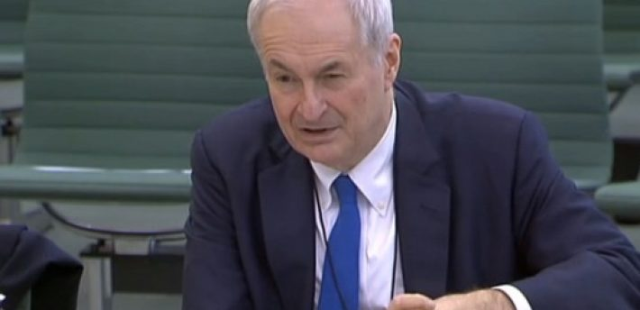 The broadcaster appearing before the House of Commons' home affairs committee