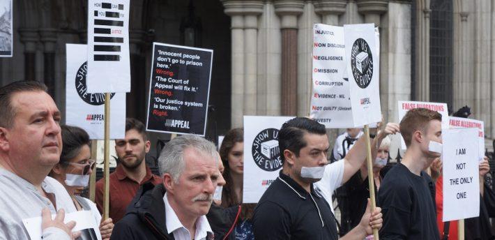 Vigil for justice: Pic by Calum McCrae