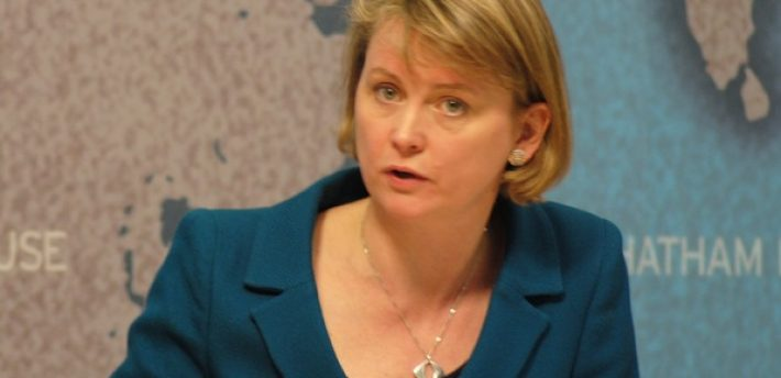Yvette Cooper, Chatham House, Flickr