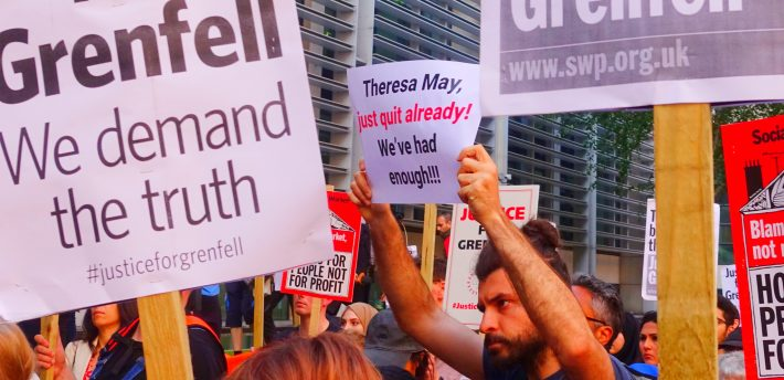 #justiceforgrenfell: pic by Gerry Popplestone (Flickr)