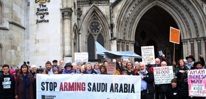 The Court of Appeal has ruled that UK arms sales to Saudi Arabia for use in Yemen are unlawful